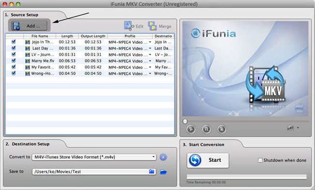 how to put mkv files on itunes